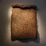 120x150cm 2007年 报纸、铁丝、胶